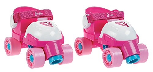 Fisher-Price Grow with Me 1,2,3 Roller Skates, Pink (Best Shoes To Skate In)