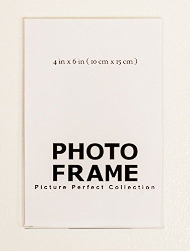 Amazon.com - 4x6 Clear Acrylic Picture Frame magnet; Magnetic ...