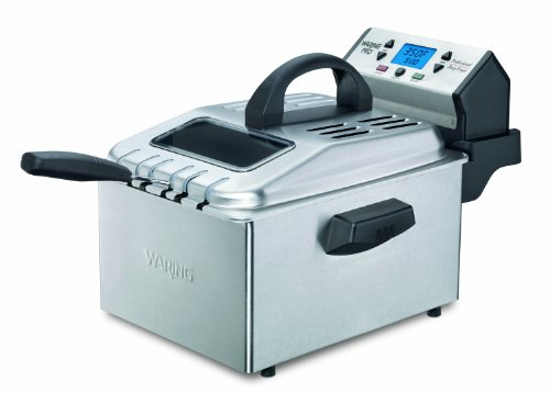 Waring Pro DF280 Professional Deep Fryer, Brushed Stainless [DISCONTINUED]