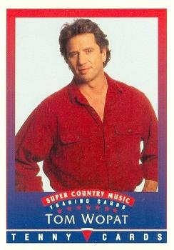 Tom Wopat trading Card (Super Country Music) 1992 Tenny