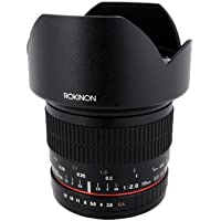 Rokinon 10mm F2.8 ED AS NCS CS Ultra Wide Angle Lens for Canon EF-M Mount Compact System Cameras (10M-M)