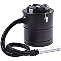 Costway 5.3 Gallon 1000W Ash Vacuum Cleaner For Fireplaces, Fire pits, Bar B Que and Smokers