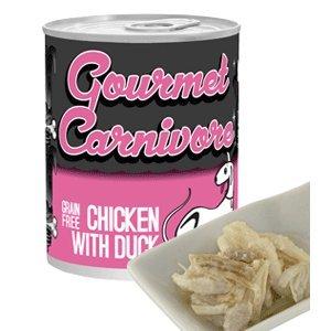 Tiki Cat Gourmet Chicken/Duck Dog Treat, 12/12 oz