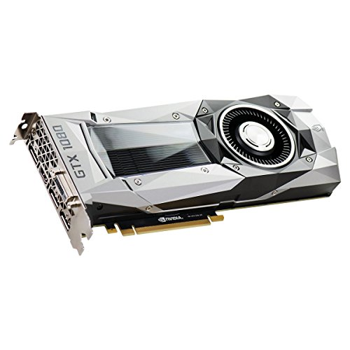 EVGA GeForce GTX 1080 Founders Edition, 8GB GDDR5X, LED, DX12 OSD...