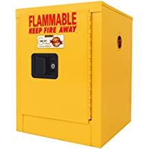 SECURALL A102 Flammable Safety Cabinet, 4 Gallon Cap, 18 Gauge Steel, 22 X