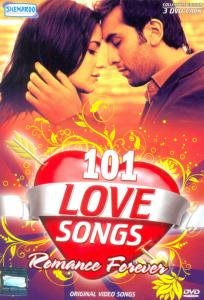 101 Love Video Songs - Romance Forever - 3 Disc Set