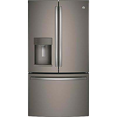 "GE GFE28GMKES 36"" Freestanding French-door Refrigerator with 27.8 Cu. Ft. Capacity, in Slate"