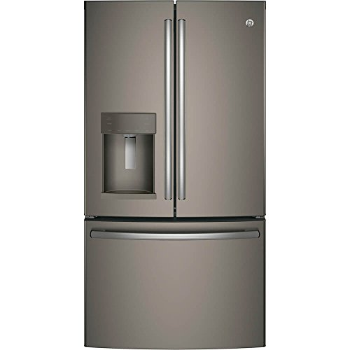 GE GFE28GMKES 36' Freestanding French-door Refrigerator with 27.8 Cu. Ft. Capacity, in Slate