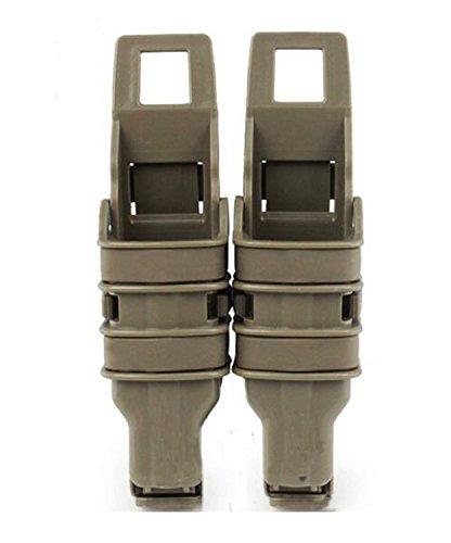 haoYK Tactical Airsoft Fast Mag pistola cintur/ón de trabajo DOUBLE Magazine funda bolsa conjunto