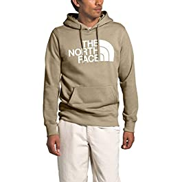 The North Face Men's Half Dome Pullover Hoodie, Twill Beige, XL