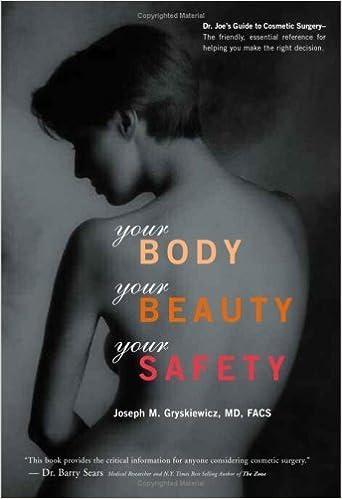 Your Body, Your Beauty, Your Safety by Joseph, M. D. Gryskiewicz (2006)
