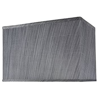aspen creative transitional rectangular hardback shaped spider construction lamp shade grey black wide rectangle shades uk canada large