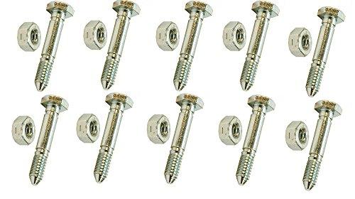 Rotary 918 PK10 Shear Pins and Nuts (Shear Pins 53200500)