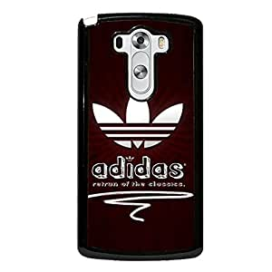 Luxury Adidas Logo Phone Case Snap on LG G3 Stylish Visual Protective Cover Shell Adidas Mark Design Cover Adidas Logo