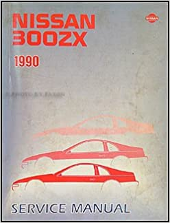 1990 Nissan 300ZX Repair Shop Manual Original: Nissan: Amazon com: Books