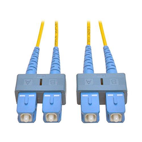 Tripp Lite Duplex Singlemode 8.3/125 Fiber Patch Cable (SC/SC), 1M (3-ft.)(N356-01M)