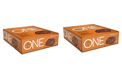 OhYeah Nutrition One Bar Chocolate Brownie, 24 Count – 2.12 oz per bar 50.88 oz per Box