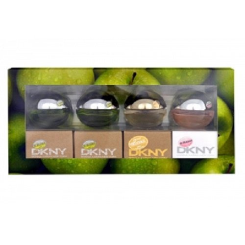 - Dkny Delicious 4 Pc Mini Gift Set 4 X 0.24 Oz 7 Ml Edp Women's Perfume New