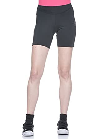 Haglofs Lady Puls Q Short Running Tights - X Large - Black