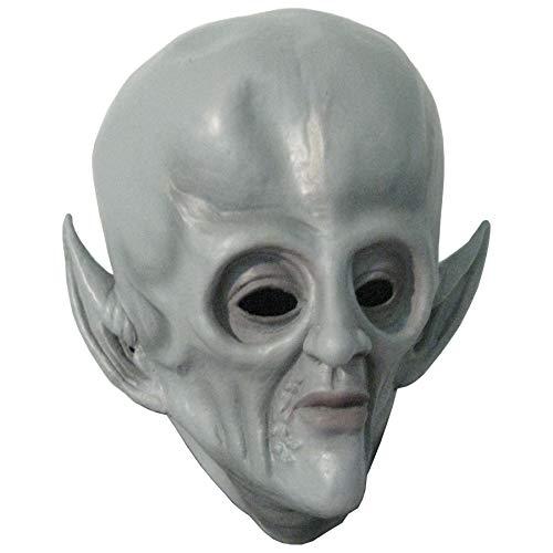 Big Head Gray Alien Spaceman Adult Halloween Costume Mask -