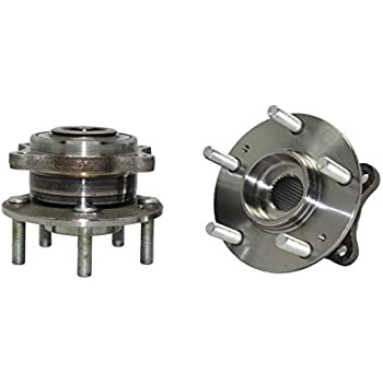 Brand New (Both) AWD REAR Wheel Hub and Bearing Assembly For - 2011-2015 Kia Sorento AWD - [2007-2014 Hyundai Santa Fe AWD] - 2013 Santa Fe XL - [2007-2010 ...