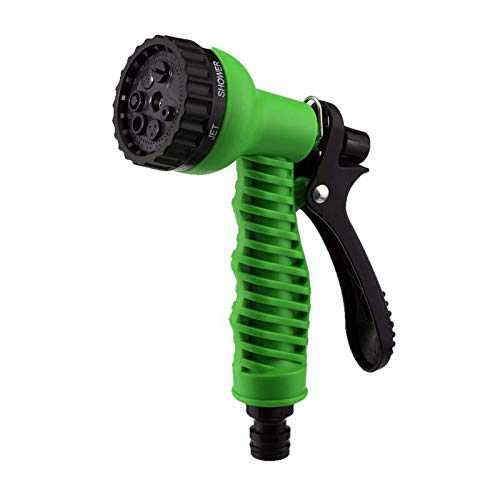 Dunnomart 7 Patterns Garden Water Sprayers Water Household Watering Hose Spray for Car Washing Cleaning Lawn Garden Watering