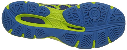 Asics Gel-Netburner Ballistic, Scarpe da Pallavolo Uomo Multicolore (Limoges/Energy Green/Directoir)
