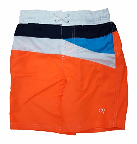 ocean-pacific-boys-orange-w-stripes-swim-shorts-2xl