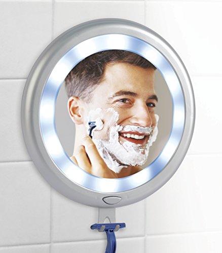 Ideaworks Fogless LED Shower Mirror