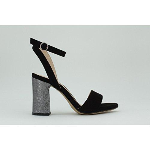Sandales Bracelet De Cheville Warhol_ks_se Femmes Unisa Noir