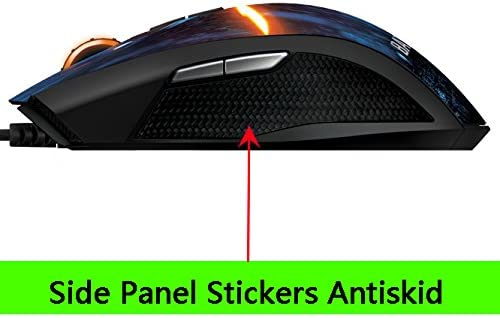 New The Replacement Mouse Side Stickers Mice Antiskid /& Feet Skates Teflon for RZ01-0078 Razer Taipan Evil Geniuses Battlefield 4 ThinkLife M700 Gaming Mouse