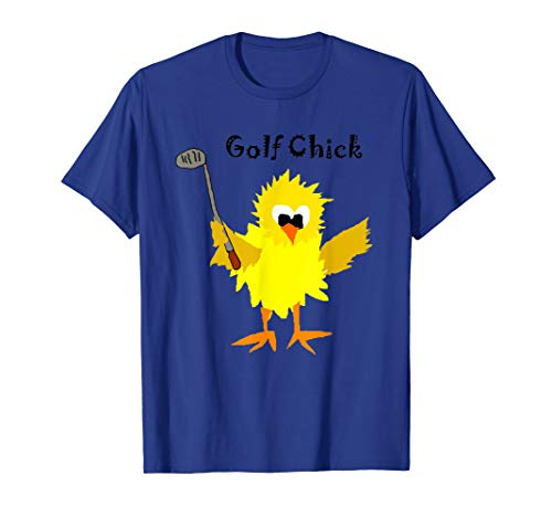Smiletodaytees Funny Golf Chick Cartoon T-shirt