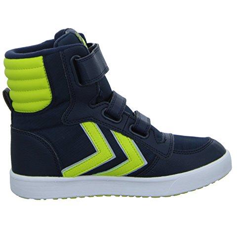 Hummel Unisex-Kinder Stadil Super Poly Boot Jr Schneestiefel Blau (Blau)