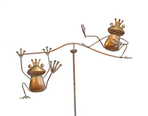 Echo Valley 4301 Frog Prince Wind Balancer, Small