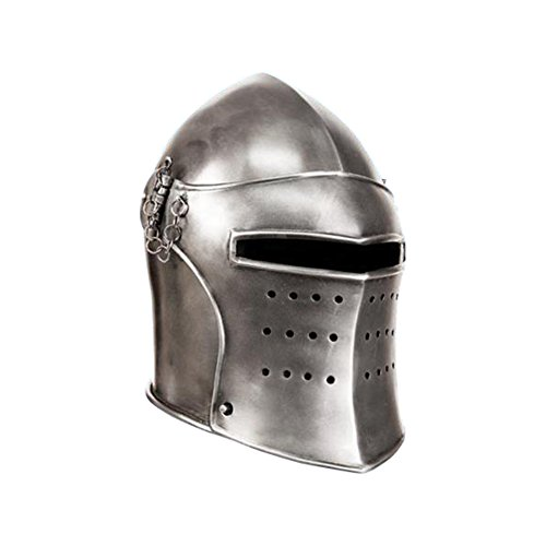 Thor Chest Plate Costume (Armor Venue - Visored Bascinet Medieval Helmet Armour Metallic One Size)