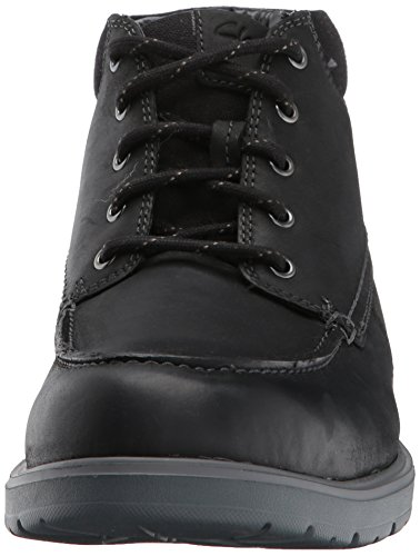 discount wiki outlet get authentic CLARKS Men's Vossen Mid Chukka Boot Black Leather clearance footaction free shipping for nice Sq7tyN83f