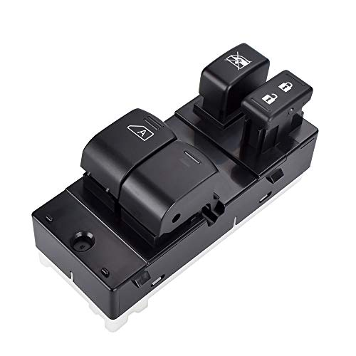 Switch Window Nissan - 25401-ZP50A Driver Side Master Power Window Switch for Nissan Frontier 2007 2008 2009 2010 2011 2012 2013 2014 2015 2016 2017
