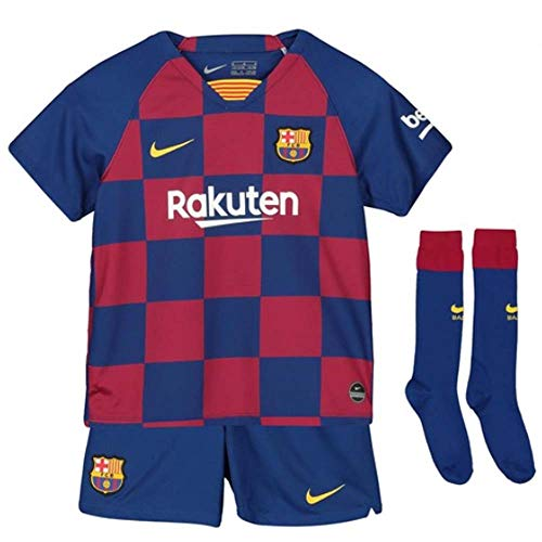 Nike 2019-2020 Barcelona Home Little Boys Mini - Boys Football Kit
