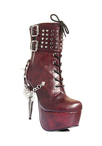 Collection 7 Burgundy Hades Heel Artemis H Shoes Rhino PpnwfRS7q