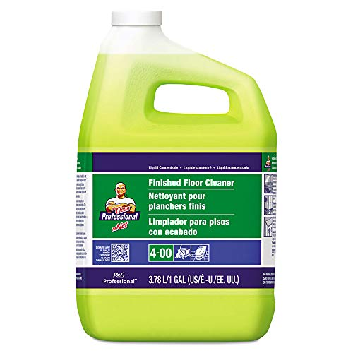 Finished Floor Cleaner - Mr. Clean 2621 Finished Floor Cleaner, Lemon Scent, One Gallon Bottle, 3/carton