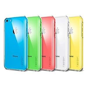 CECT STOCK Color sólido fondo transparente para el iPhone 5C (colores surtidos) , Amarillo