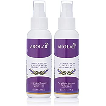 Amazon Com Lavender Room And Linen Spray Natural