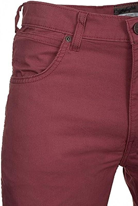 Wrangler Arizona Stretch dżinsy męskie Czerwony W120-V9 – 47 X - 31W / 34L czerwony: Odzież