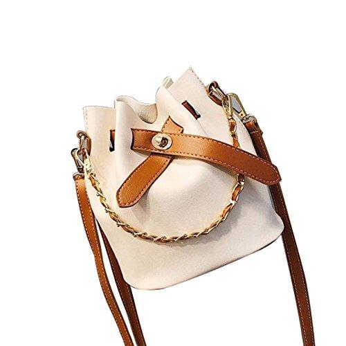 Bangle009 Femme Sac Blanc Pour L'épaule Noir À Porter R4HRqwP
