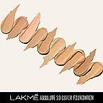 Lakmé Absolute 3D Cover Foundation, Warm Crème, 15 ml