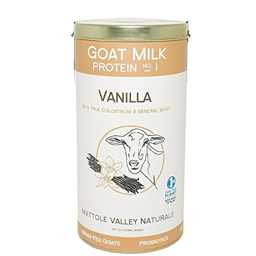 Cheap Vanilla Goat Milk Protein – Improved Performance & Decreased Recovery Time – Stimulates Body's Vitality – Maintaining Youth & Lean Body Mass (no. 1, vanilla)