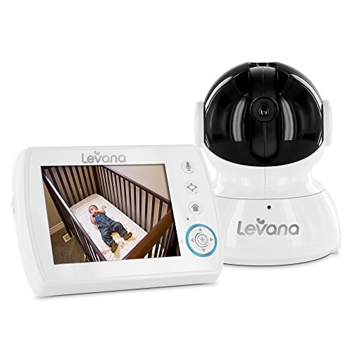 igital Baby Video Monitor with Talk to Baby Intercom, White ()