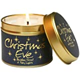 Lily-Flame Christmas Eve Tin, Blue