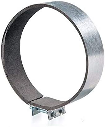 100mm //4 DIY /& Tools Heavy Duty Hydroponics Anti Vibration Duct Ventilation Fast Clamp