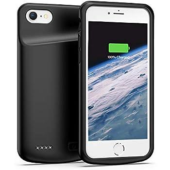 Amazon.com: Funda de batería para iPhone 6 y 6s, 4000 mAh ...